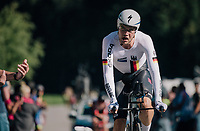 Maximilian Schachmann (DEU/Quick-Step Floors)<br /> <br /> MEN ELITE INDIVIDUAL TIME TRIAL<br /> Hall-Wattens to Innsbruck: 52.5 km<br /> <br /> UCI 2018 Road World Championships<br /> Innsbruck - Tirol / Austria