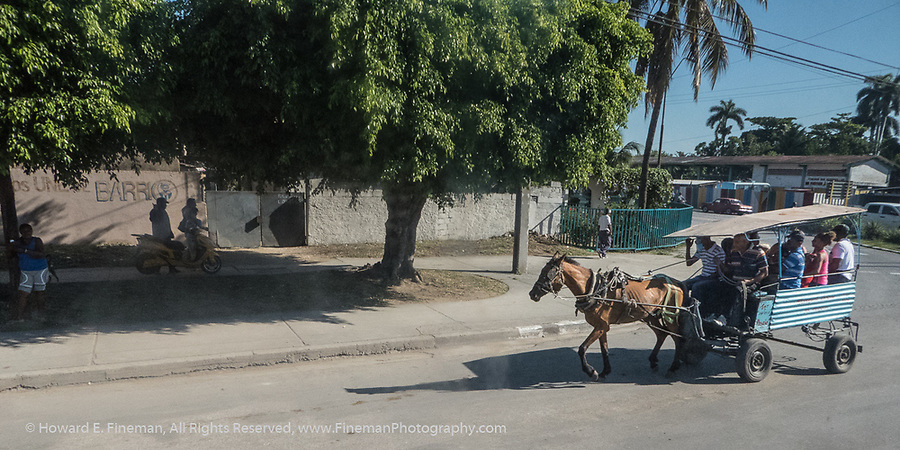 Local inexpensive commuting in Cienfuegos