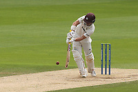 Rory Burns in batting action for Surrey during Surrey CCC vs Somerset CCC, LV Insurance County Championship Group 2 Cricket at the Kia Oval on 13th July 2021