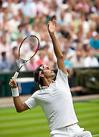 22-6-09, Enland, London, Wimbledon, Roger Federer