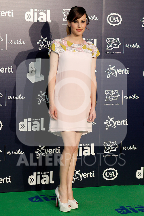 Spanish actress Natalia de Molina during the Cadena Dial Awards 2014. March 7, 2014. (ALTERPHOTOS/Acero)