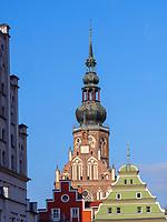 Dom St. Nikolai, Greifswald ,Mecklenburg-Vorpommern, Deutschland, Europa<br /> church St. Nikolai, Greifswald, Mecklenburg-Hither Pomerania, Germany, Europe