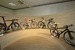 The showroom Colnago Factory, Cambiago, Italy. 30th September 2015.<br /> Picture: Eoin Clarke | Newsfile