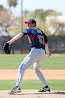 Clayton Cook, Cleveland Indians 2010 minor league spring training..Photo by:  Bill Mitchell/Four Seam Images.