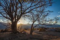 Evening, Manzanar