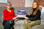 Maureen Murphy and Deidre Burke enjoying the the world premiere of Kilimanjaro Mama, which was launched on You tube on Friday night.