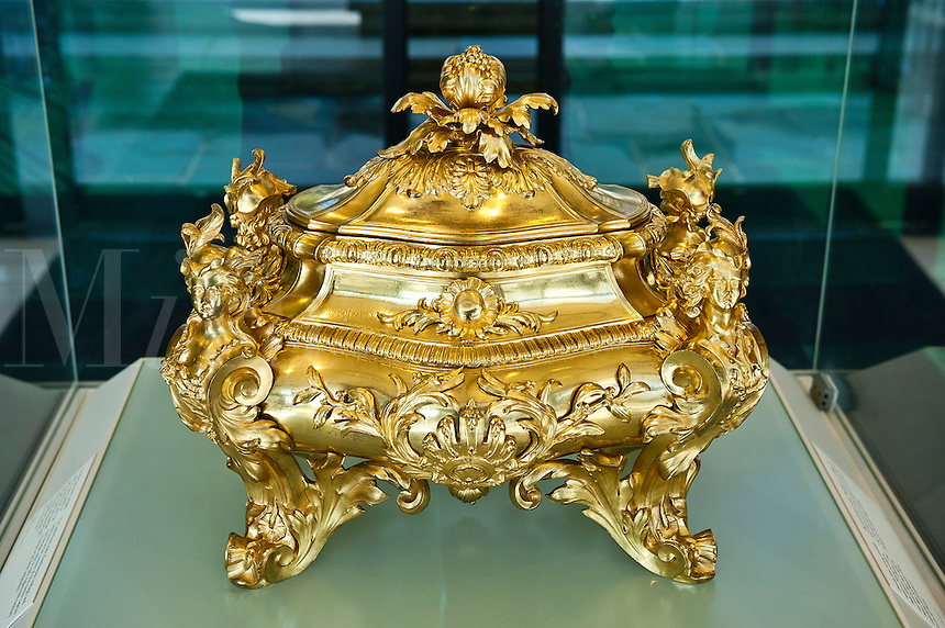 The Campbell Collection of Soup Tureens at Winterthur Museum