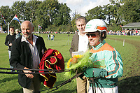 PAARDENSPORT: JOURE: 2005, Jouster Merke Draverij, ©foto Martin de Jong