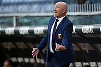 Rolando Maran coach of Genoa CFC reacts during the Serie A football match between Genoa CFC and AS Roma at Marassi Stadium in Genova (Italy), November 11th, 2020. Photo Gino Mancini / Insidefoto