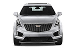 Car photography straight front view of a 2020 Cadillac XT5 Premium-Luxury 5 Door SUV Front View