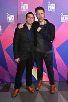 """Paul Popplewell and Paddy Considine<br /> arriving for the London Film Festival 2017 screening of """"Journeyman"""" at Picturehouse Central, London<br /> <br /> <br /> ©Ash Knotek  D3333  12/10/2017"""