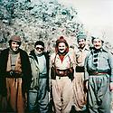 Iraq 1979  In Nawzang, january 3rd , from left to right, Adel Murad,Fuad Masum,Jalal Talabani, Omar Shekmos and Kamal Koshnaw.<br /> Irak 1979.Le 3 janvier a Nawzang, de gauche a droite, Adel Murad, Fuad Masum, Jalal Talabani, Omar Shekmos et Kamal Khoshnaw<br /> <br /> عیراق 1979 ،ناوزه نگ، سی ی ریبه ندان، له لای چه په وه: عادل مراد، فوئاد مه عسووم، جه لال ته له بانی، عومه ر شیخ مووس، که مال خوشناو.                                   <br /> Îraq 1979, Li Nawzangê, 3ê  rêbendenê, Ji çepê ber bi rastê, Adel Murad , Fuad Masûm, Celal Talabanî, Omar Şêxmûs û Kemal Xoshnaw.
