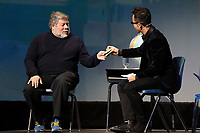 Montreal, CANADA, February 16, 2015,<br /> <br /> Apple Co-founder Steve Wozniak speak in Montreal<br /> <br /> Photo : Agence Quebec Presse