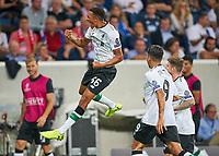 Alexander-Arnold TRENT, LIV 66 celebrates *** Local Caption *** Soccer Football - Champions League - Hoffenheim vs Liverpool - Qualifying Play-Off First Leg - Sinsheim, Germany - August 15, 2017<br /> <br /> © pixathlon +++ tel. +49 - (040) - 22 63 02 60 - mail: info@pixathlon.de