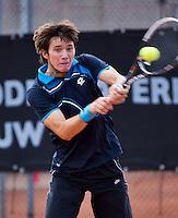 08-08-13, Netherlands, Rotterdam,  TV Victoria, Tennis, NJK 2013, National Junior Tennis Championships 2013, Robert Constantinovici  <br /> <br /> <br /> Photo: Henk Koster
