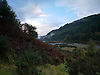 The Ystwyth Valley in early Autumn. This part of the river is about twelve miles inland from<br /> the seaside town of Aberystwyth.<br /> <br /> You can walk the length of the river on paths and tracks through beautiful countryside.<br /> <br /> Stock Photo by Paddy Bergin