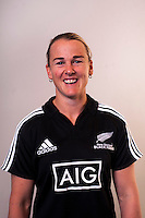 Emma Jensen. New Zealand Black Ferns headshots at The Rugby Institute, Palmerston North, New Zealand on Thursday, 28 May 2015. Photo: Dave Lintott / lintottphoto.co.nz
