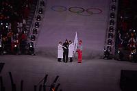 OLYMPIC GAMES: PYEONGCHANG: 09-02-2018, PyeongChang Olympic Stadium, Olympic Games, Opening Ceremony, Olympic Oath, Mo Tae-bum (KOR), ©photo Martin de Jong