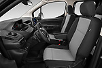 Front seat view of a 2020 Peugeot Partner Premium Long 4 Door Car van front seat car photos