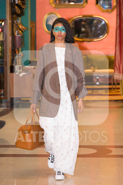 First edition of second hand fashion show Vintology in Madrid (Alterphotos/Francis Gonzalez)