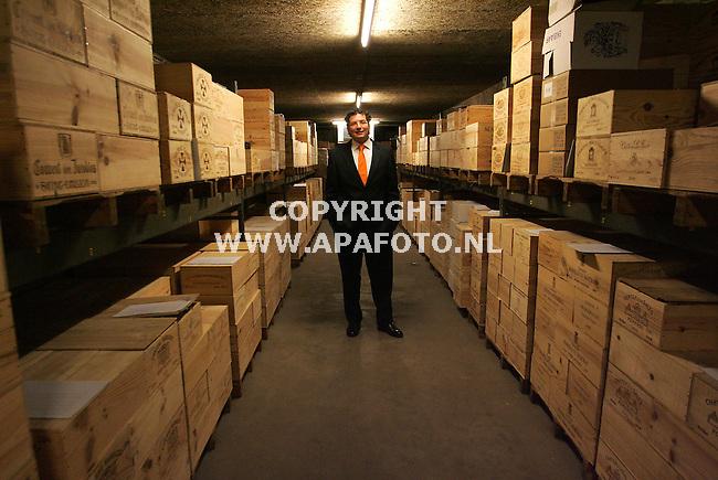 Nijmegen, 050407<br /> Wijninkoop de Bruin.<br /> Foto: Luuk van der Lee - APA Foto
