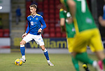 St Johnstone v Preston North End…13.07.21  McDiarmid Park<br />Hayden Muller in action<br />Picture by Graeme Hart.<br />Copyright Perthshire Picture Agency<br />Tel: 01738 623350  Mobile: 07990 594431