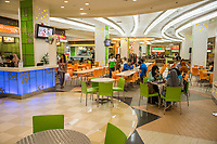 Yogyakarta, Java, Indonesia.  Ambarrukmo Shopping Mall Fast Food Court.