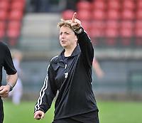 RSC Anderlecht Dames - Ajax Amsterdam : Virginie Derouaux.foto DAVID CATRY / Nikonpro.be