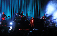 Ryan Tedder, lead vocalist of OneRepublic, playing live at the London Palladium on March 10th 2020<br />