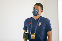 ST. GALLEN, SWITZERLAND - MAY 30: David Ochoa of the United States before a game between Switzerland and USMNT at Kybunpark on May 30, 2021 in St. Gallen, Switzerland.