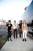 The Dandy Warhols in Nashville, Tennessee on May 5th, 2014.