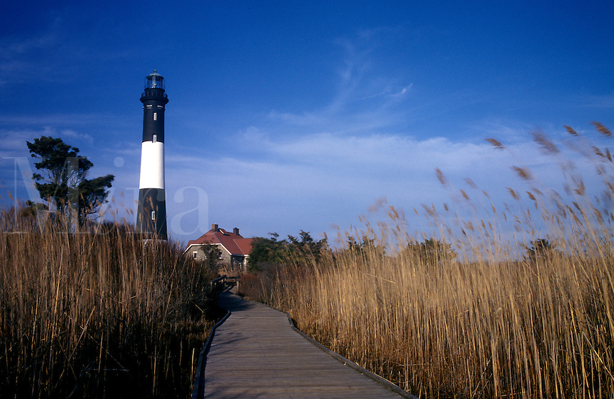 Fire Island Lighthouse, Long Island, New York.
