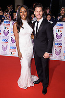 Alexandra Burke and Gorka Marquez<br /> at the Pride of Britain Awards 2017 held at the Grosvenor House Hotel, London<br /> <br /> <br /> ©Ash Knotek  D3342  30/10/2017