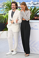 CANNES, FRANCE. July 13, 2021: Francois Civil & Adele Exarchopoulos at the photocall for Bac Nord at the 74th Festival de Cannes.<br /> Picture: Paul Smith / Featureflash