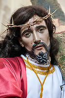 Antigua, Guatemala.  Statue of Jesus dating from the 1750s, Church of San Jose.