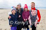 The Durran family enjoying Banna on Friday, l to r: Anna, Ava, Gina, Rob and Evie Durran.