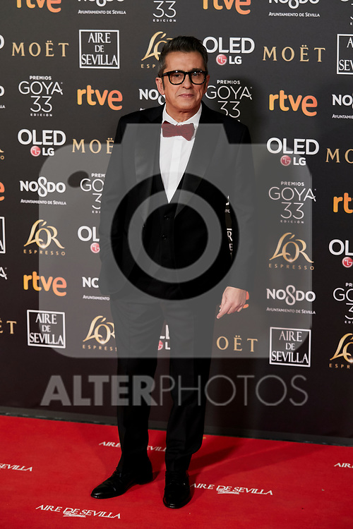 Andreu Buenafuente attends to 33rd Goya Awards at Fibes - Conference and Exhibition  in Seville, Spain. February 02, 2019. (ALTERPHOTOS/A. Perez Meca)