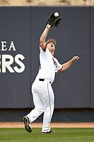 SAN ANTONIO, TX - MAY 16, 2017: The University of Texas at San Antonio Roadrunners Baseball at Roadrunner Field. (Photo by Jeff Huehn)