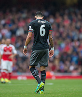 during the EPL - Premier League match between Arsenal and Southampton at the Emirates Stadium, London, England on 10 September 2016. Photo by Andy Rowland / PRiME Media Images.