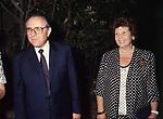 CARLO AZEGLIO E FRANCA CIAMPI  PREMIO FIUGGI 1989