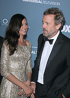 Hugh Laurie and Odette Annable at Fox's 'House' series finale wrap party at Cicada on April 20, 2012 in Los Angeles, California. ©mpi21/MediaPunch Inc.