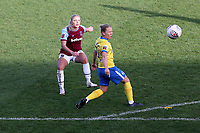 Adriana Leon of West Ham goes close to a goal during West Ham United Women vs Brighton & Hove Albion Women, Barclays FA Women's Super League Football at the Chigwell Construction Stadium on 15th November 2020
