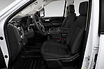Front seat view of 2020 GMC Sierra-2500HD - 4 Door Pick-up Front Seat  car photos