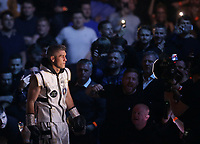 9th October 2021; M&S Bank Arena, Liverpool, England; Matchroom Boxing, Liam Smith versus Anthony Fowler; LIAM SMITH (Liverpool, England) walks to the ring prior to his WBA International Super-Welterweight Title v ANTHONY FOWLER (Liverpool, England)