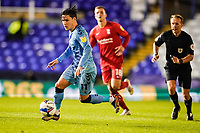 20th November 2020; St Andrews Stadium, Coventry, West Midlands, England; English Football League Championship Football, Coventry City v Birmingham City; Callum O'Hare of Coventry City running with the ball
