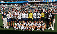 USA Women's Team Medals, USA vs. Canada at the Third Place Match of the FIFA Women's World Cup USA 2003. USA 3, Canada, 1. (October 11, 2003). .