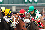 17 October 2009: Edgar Prado and El Brujo take the G3 Perryville Stakes at Keeneland Race Course in Lexington, Ky.