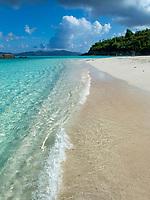 Trunk Bay beach<br /> Virgin Islands National Park<br /> St. John<br /> US Virgin Islands