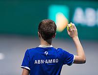 Rotterdam, The Netherlands, 6 march  2021, ABNAMRO World Tennis Tournament, Ahoy,  <br /> Semi final doubles: Henri Kontinen (FIN) / Eduoard Roger-Vasselin (FRA) vs. Kevin Krawietz (GER) / Horia Tecau (ROU).<br /> Photo: www.tennisimages.com/henkkoster