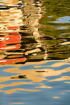 Abstract water reflection detail